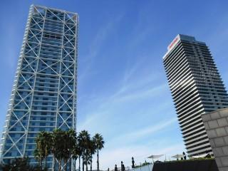 Barcelona Twin Towers - oh-barcelona.com